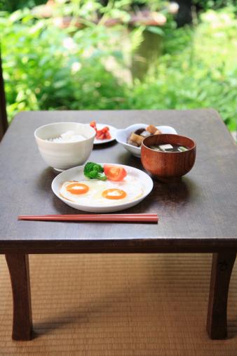 和食「Japanese cuisine breakfast」:スマホ壁紙(5)