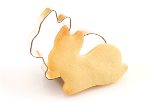 Easter Bunny「Cookie cutter and Easter cookie」:スマホ壁紙(19)