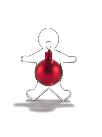 雪だるま「Cookie cutter and ornament」:スマホ壁紙(13)