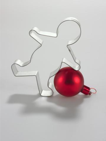 雪だるま「Cookie cutter and ornament」:スマホ壁紙(14)