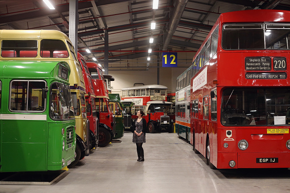 Bus「Staff At The London Transport Museum Depot Prepare For Opening To The Public This Weekend」:写真・画像(9)[壁紙.com]