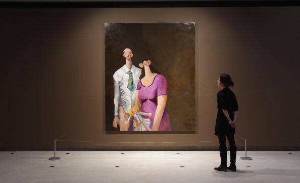 Hayward Gallery「Artist George Condo Unveils His Latest Exhibition Mental States」:写真・画像(11)[壁紙.com]