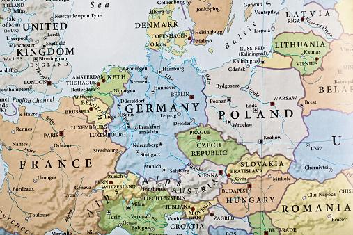 Czech Republic「Europe map」:スマホ壁紙(5)