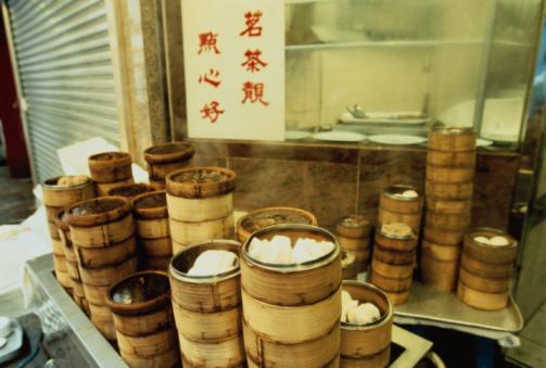 Steamer「Dim Sum in Baskets」:スマホ壁紙(18)
