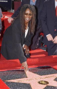 Walk Of Fame「Whoopi Goldberg Gets A Star On The Walk Of Fame」:写真・画像(10)[壁紙.com]
