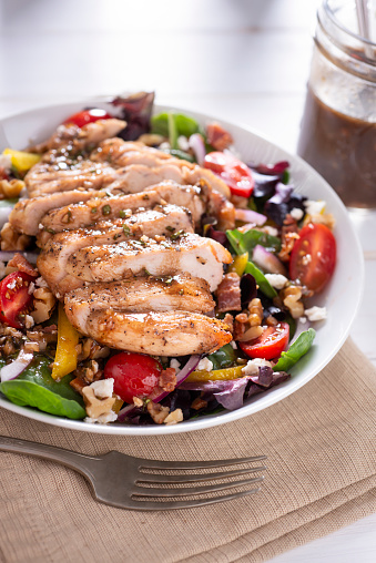 Vinaigrette Dressing「Balsamic Chicken Salad」:スマホ壁紙(2)