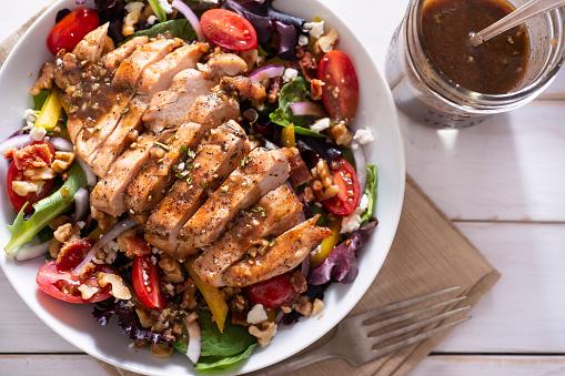 Vinaigrette Dressing「Balsamic Chicken Salad」:スマホ壁紙(18)