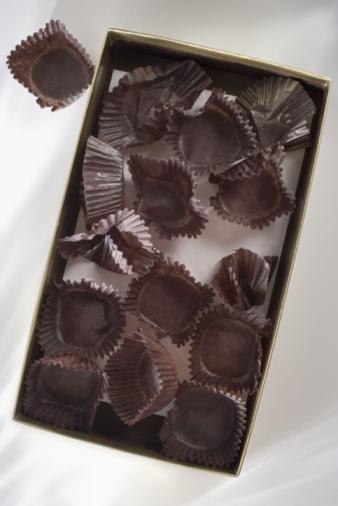 カラの箱「Empty box of chocolates」:スマホ壁紙(5)