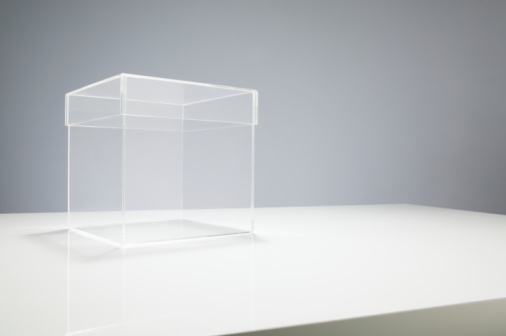 Box - Container「Empty box on table」:スマホ壁紙(5)