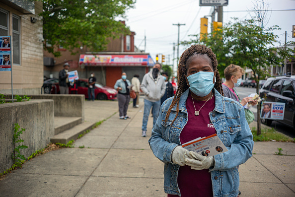 Philadelphia - Pennsylvania「Pennsylvania Holds Primary Amid Pandemic And Social Unrest」:写真・画像(1)[壁紙.com]