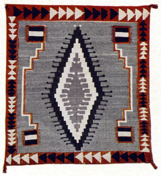 Blanket「Navaho (or Navajo) blanket - woven by the Native Americans of New Mexico in the 1920 's.」:写真・画像(4)[壁紙.com]