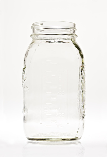 Blank「Empty Clear Glass Canning Jar」:スマホ壁紙(8)