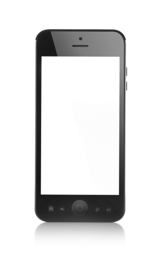 Black Color「Modern smartphone」:スマホ壁紙(8)
