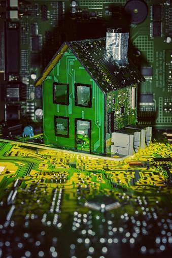Home Automation「Modern Smart Home」:スマホ壁紙(6)