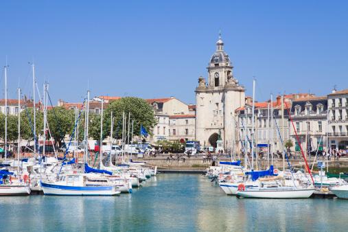Nouvelle-Aquitaine「Vieux Port, the harbour, La Rochelle, Charente-Maritime, France」:スマホ壁紙(14)