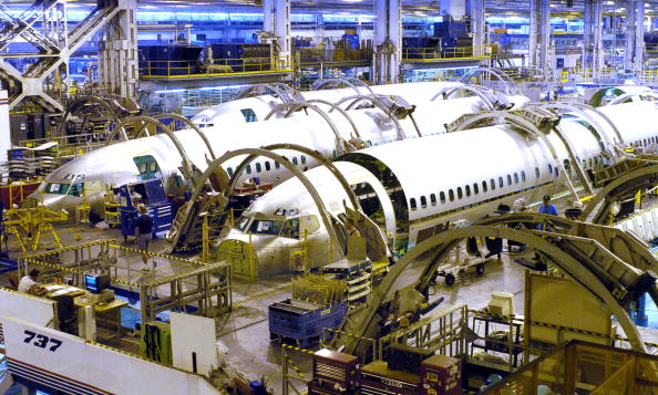 Construction Industry「Wichita Plant Keeps Boeing In The Air」:写真・画像(0)[壁紙.com]