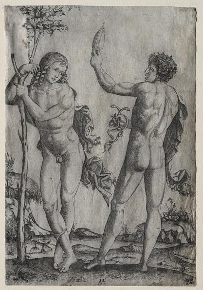 30-34 Years「Two Nude Men Beside A Tree. Creator: Marcantonio Raimondi (Italian」:写真・画像(16)[壁紙.com]