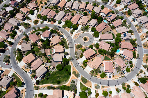 Housing Project「Birds Eye View of Housing Development」:スマホ壁紙(6)