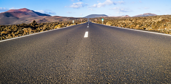 Ski Resort「Infinity Road to Timanfaya Vulkan Lanzarote」:スマホ壁紙(8)