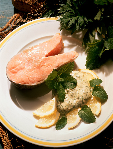 Herb Sauce「Salmon Cutlet with Herb Remoulade Sauce」:スマホ壁紙(13)