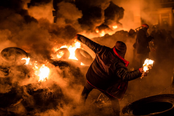 Politics「Protests Continue In Kiev As The Opposition Calls For A Snap Election」:写真・画像(7)[壁紙.com]