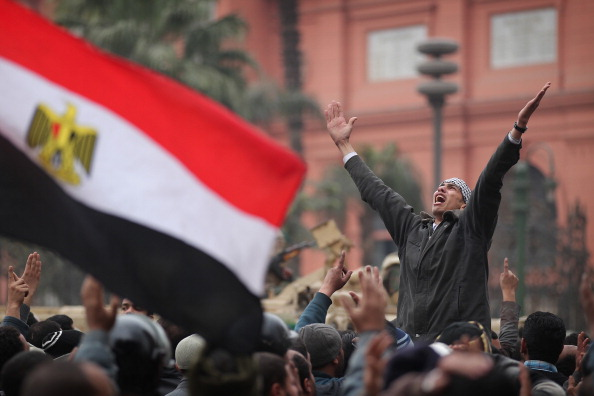 Egypt「Anti-Mubarak Protesters Continue to Occupy Tahrir Square In Cairo」:写真・画像(3)[壁紙.com]
