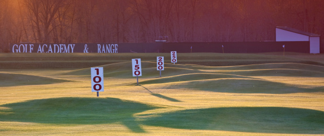 Wooden Post「Driving Range Yardage Signs」:スマホ壁紙(7)