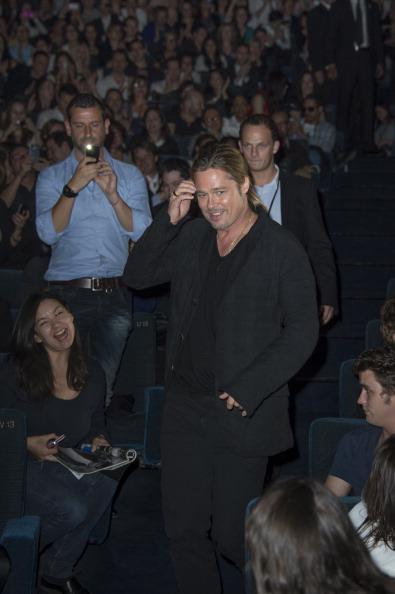 Gratitude「World War Z - Paris Premiere - Red Carpet Arrivals」:写真・画像(11)[壁紙.com]