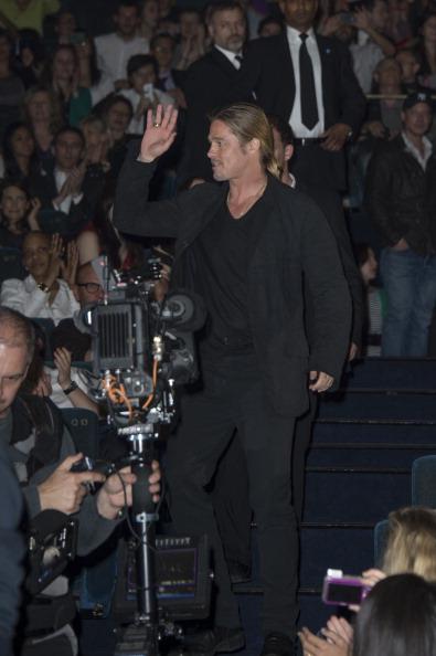 Gratitude「World War Z - Paris Premiere - Red Carpet Arrivals」:写真・画像(10)[壁紙.com]