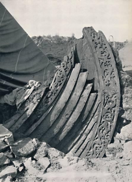 The Oseberg Ship In The Mound:ニュース(壁紙.com)