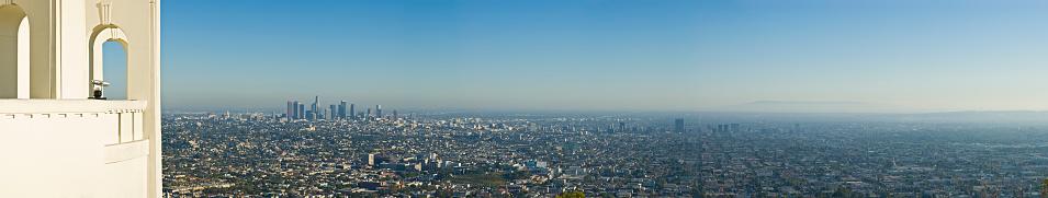 Boulevard「Detailed Panoramic of Los Angeles」:スマホ壁紙(11)