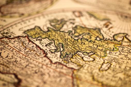 Road Map「Ancient Europe World Map」:スマホ壁紙(13)
