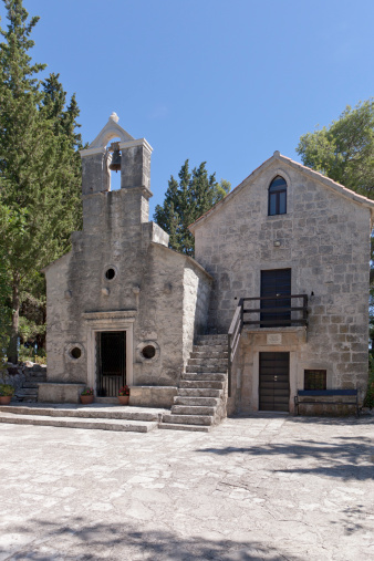 スクエア「Ancient Church on St Anthony's Hill Korcula Croati」:スマホ壁紙(16)