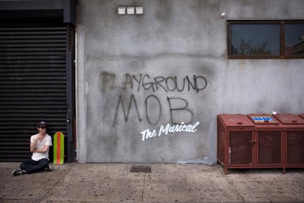 アート「British Street Artist Banksy Announces A Month Of New Works On NYC Streets」:写真・画像(16)[壁紙.com]
