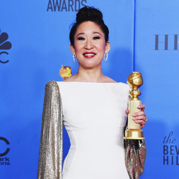 Golden Globe Award trophy「76th Annual Golden Globe Awards - Press Room」:写真・画像(4)[壁紙.com]