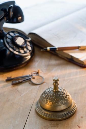 Hotel Reception「Service bell」:スマホ壁紙(15)