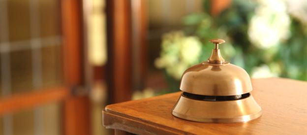 Hotel Reception「Service Bell」:スマホ壁紙(12)