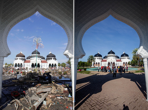 Composite Image「Indonesia 10 Years After Devastating Indian Ocean Tsunami」:写真・画像(18)[壁紙.com]