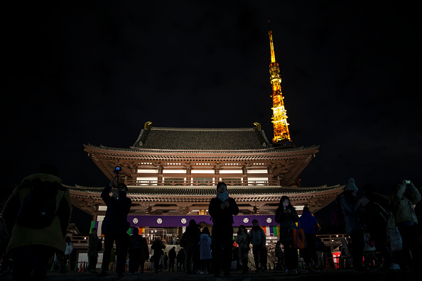 Tokyo Tower「Japanese Countdown To The New Year」:写真・画像(19)[壁紙.com]
