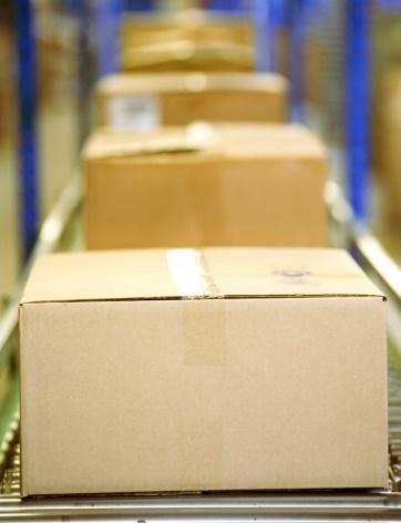 Freight Transportation「Boxes on conveyor belt」:スマホ壁紙(18)