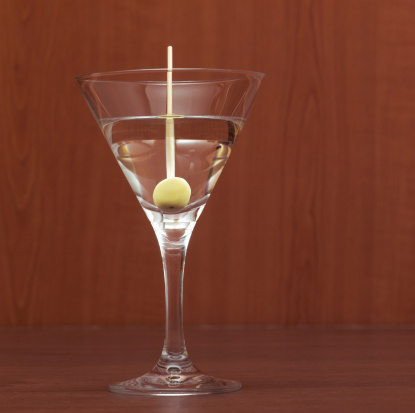 Fruit Garnish「Martini, close-up」:スマホ壁紙(14)