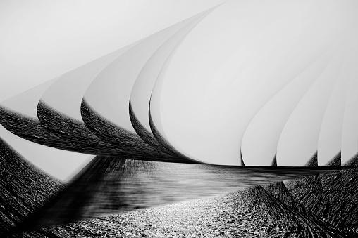 Ijmuiden「Imaginary sailing ship on the sea.」:スマホ壁紙(8)
