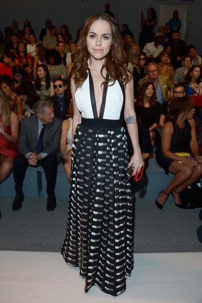 Michael Loccisano「Carmen Marc Valvo - Front Row - Mercedes-Benz Fashion Week Spring 2014」:写真・画像(7)[壁紙.com]