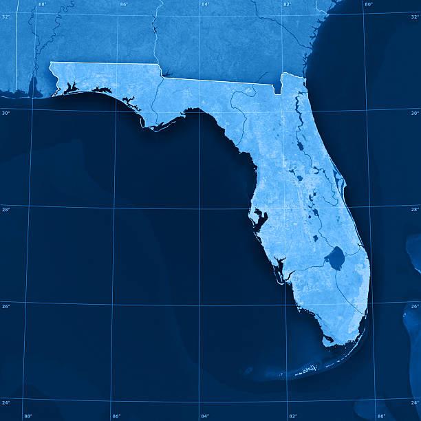 Florida Topographic Map:スマホ壁紙(壁紙.com)