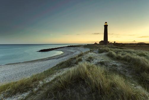 Denmark「Denmark, Skagen, lighthouse at the beach」:スマホ壁紙(7)