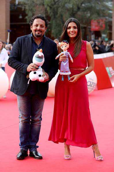 Hot Pink「Frozen. Olaf's Frozen Adventure Red Carpet - 12th Rome Film Fest」:写真・画像(18)[壁紙.com]