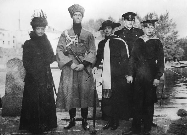 Grand Duke「Empress Maria Fyodorovna Grand Duke Michael Alexandrovich Grand Duchess Xenia Alexandrovna With Ch」:写真・画像(8)[壁紙.com]