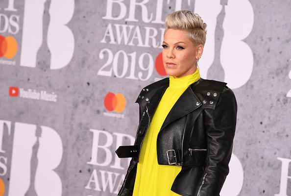 Pink「The BRIT Awards 2019 - Red Carpet Arrivals」:写真・画像(0)[壁紙.com]