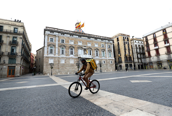 Spain「Spain Continues Nationwide Lockdown To Combat The Coronavirus」:写真・画像(7)[壁紙.com]