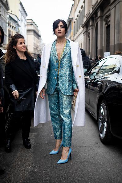 ストリートスナップ「Ermanno Scervino - Street Style - Milan Fashion Week 2019」:写真・画像(14)[壁紙.com]